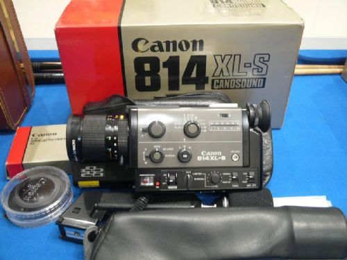 '            814XL-S -BOXED-MINT-+Acc ' Canon 814XL-S Pro Cine Camera c/w Inst + Acc £399.99